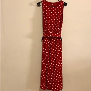 MY MICHELLE  red/white polka dot dress size 11/12